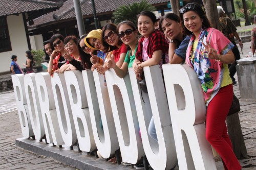 Tour to Borobudur Temple